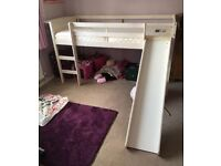 Children's mid sleeper bed