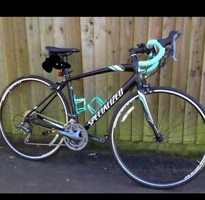 Stolen Bike Specialized 2015 Black with turquoise tape and print