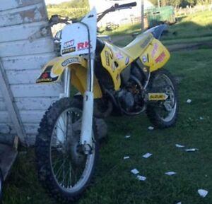 Rm 125 2 stroke *siezed piston*
