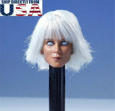 Hot Female Superheros (1/6 Storm Head Sculpt B For Superhero X-men Halle 12
