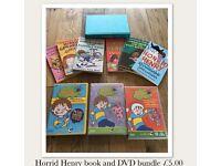 HORRID HENRY book & DVD bundle