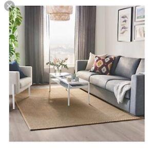 Jute Floor Rug - large 2120 x 3000