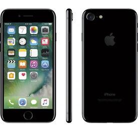 iPhone 7 Unlocked 128GB Jet Black new ONO