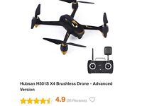 Hubsan BLACK MODEL H501S X4 Brushless Drone - Advanced Version £250 NO OFFERS THIS BRAND NEW