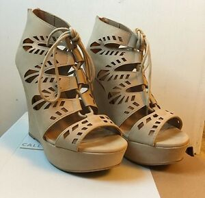 Call It Spring Yealian Platform Wedges - Size 7.5