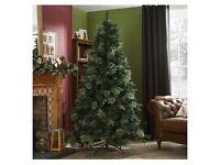 Tesco Luxury 7ft Regency Fir Tree