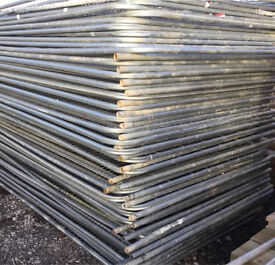 HERAS TEMPORARY SECURITY FENCE PANELS ~ USED 🔩