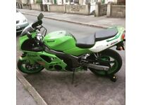 1997 Kawasaki Ninja ZX-6R spares or repairs £450 ONO