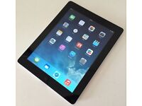 iPad 64GB Black and back side Silver front back camera very good condition for sale