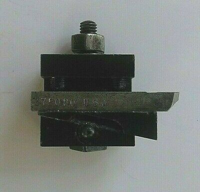 Hardinge D9 Wedge Tool Holder Block For Asm Vbs Dsm Hlv Dv-59 Hsl Speed Lathe