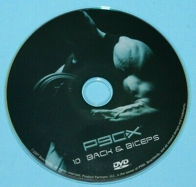 P90X #10 BACK & BICEPS Replacement Disc DVD #10 Extreme Home Fitness, used for sale  London