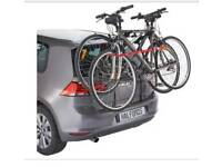 Double bike rack for hatchback car carry 2 bikes safely & easily