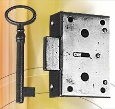HxB 42x63 Kastenschloss Möbelschloss Schublade Schrankschloss Dornmaß 20mm