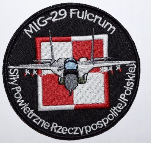 Mig 29 POLAND ARMY patch