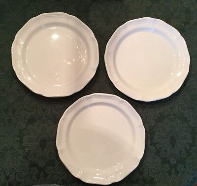 """3 Mikasa French Countryside Dinner Plates 10 7/8"""""""
