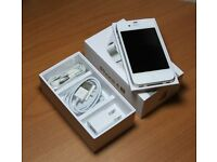 apple iphone 4s white o2 02 giff gaff tesco or unlocked brand new never been used