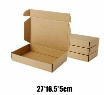 Kraft Gift Packing Boxes Storage Item Products Protections 10pcslot 2716.55cm