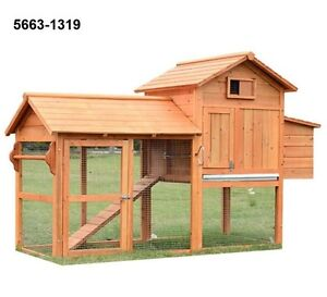 Wooden hutch for rabbit, chicken and other animals - Tax inclu.