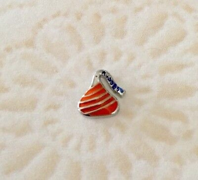 CHOCOLATE CANDY KISS FLOATING CHARM - Candy Charm