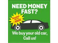 CASH FOR SCRAP CARS & VANS,COLLECTION 7 DAYS A WEEK