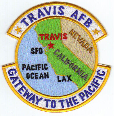 TRAVIS AIR FORCE BASE, CALIFORNIA, GATEWAY TO THE PACIFIC   Y