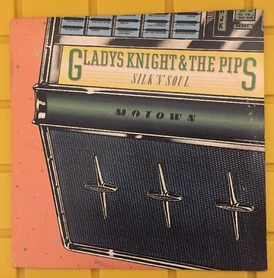 Gladys Knight And The Pips   Silk N Soul Lp Natural Resources 1978 Ex Ex Vinyl