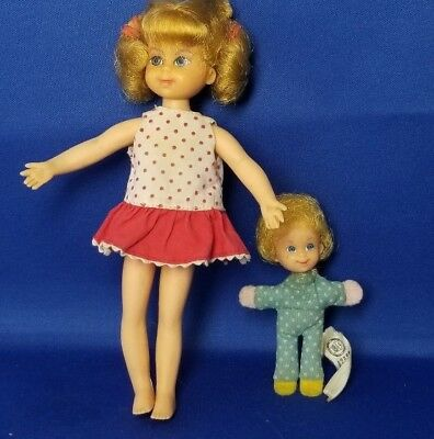 1960's Mattel Family Affair Buffy And Mrs. Beasley Dolls