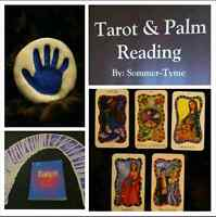 Tarot and Palm Reading Available