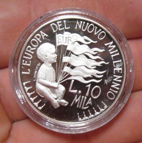 San Marino - 1998 Proof Silver 10000 Lira