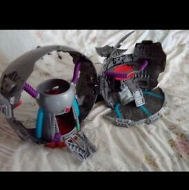 Teenage mutant ninja turle technodrome playset