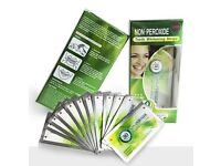 Non Peroxide Teeth Whitening Enamel-Friendly Mint Gel Strips