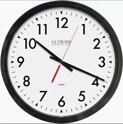 La Crosse Technology Commercial Quartz Wall Clock 404-2636-INT