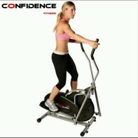 Confidence Fitness Elliptical Cross Trainer