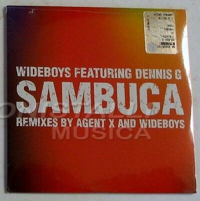 WIDEBOYS ft. DENNIS G - SAMBUCA - CD Single Sigillato