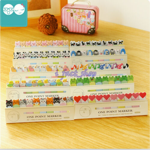 150 Pages Stick Mini Cute Cartoon Sticky Notes Tab Index Marker Memo IFA