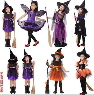 Halloween Costume Kids Vampire Witch Princess Carnival Girl Children Witch Dress - Vampire Princess Costume Halloween