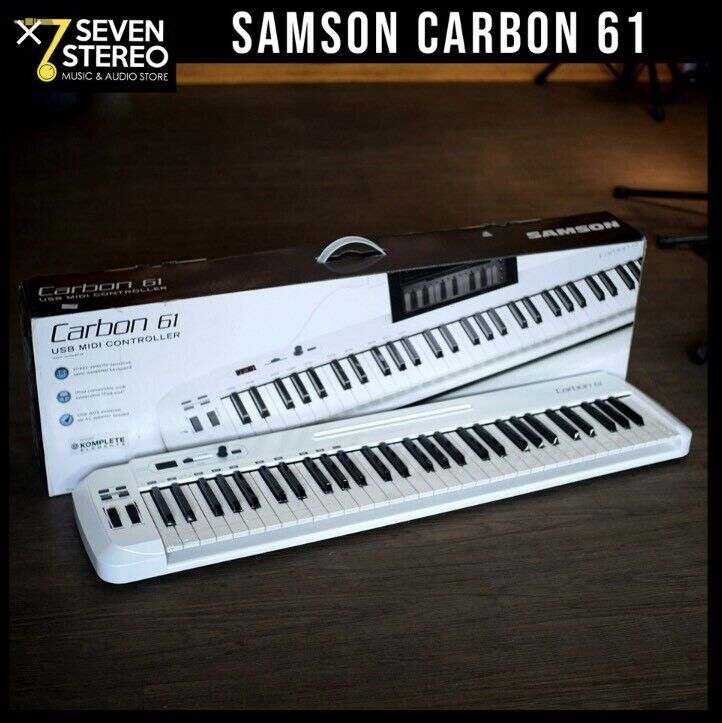 Samson Carbon 61 USB Midi Controller Keyboard  NEVER USED | in Great  Shelford, Cambridgeshire | Gumtree