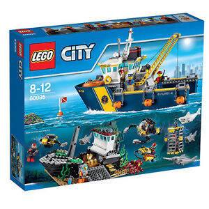 LEGO-City-60095-Tiefsee-Expeditionsschiff-Neu-amp-OVP