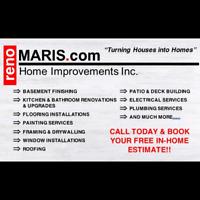 renoMARIS.com Home Improvements, Renovations, Repairs, Basements