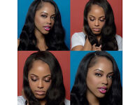 Body Wave Human Hair Full Lace Wig Instock