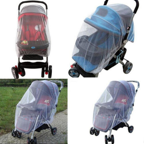 Baby Stroller Mosquito Net Full Insect Cover Carriage Kid Fo