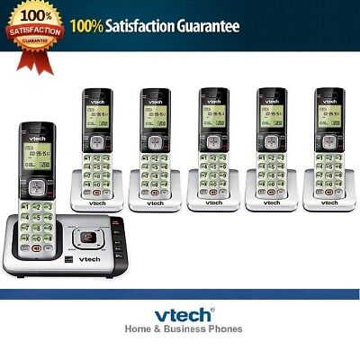 LANDLINE SET SYSTEM DECT 6.0 BLUETOOTH CORDLESS HOME PHONE ANSWERING MACHINE LOT