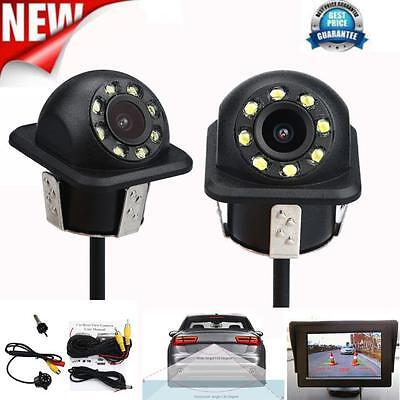 Waterproof 170º Car Rear View Reverse Backup Parking Camera Night Vision Black