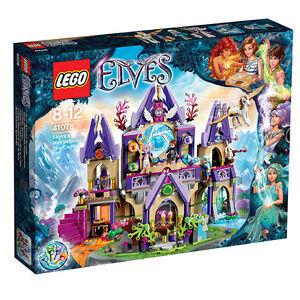 Populære LEGO Elves Skyras geheimnisvolles Himmelsschloss (41078) günstig UY-19