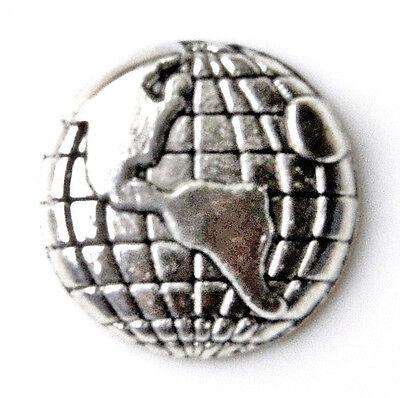 Globe Lapel Pin - Tie Tack - Gift Idea - Handmade - Gift Box