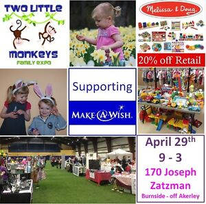 Giant Kids Consignment Sale supporting Make-A-Wish