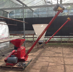 hammermill and auger