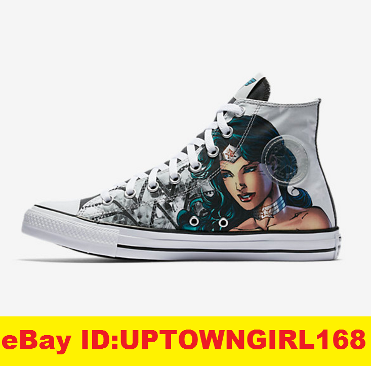 0e35b0f77c0a Converse Chuck Taylor All Star Hi Shoes 156986C DC Comic Wonder Woman US Sz  8