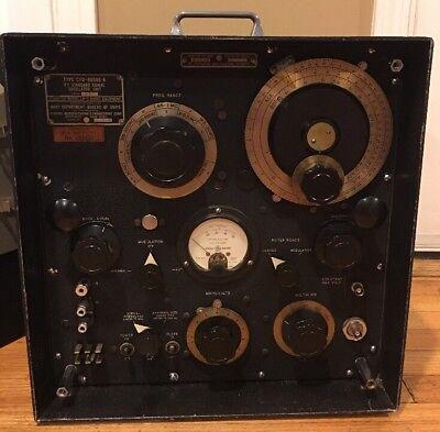 Federal Mfg & Eng Navy LP-5RF Radio Standard Signal Generator CDF-60006-A