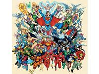Superhero barback/glass collector wanted
